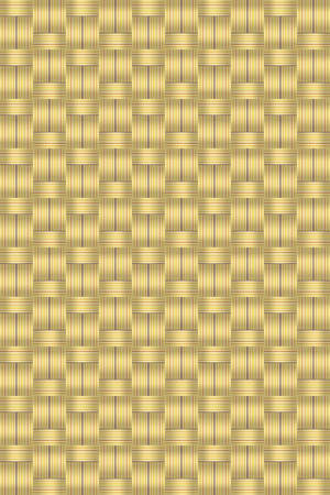 Abstract wicker straw background vector for design workflow