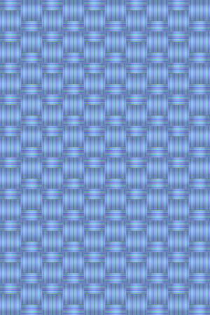 Abstract blue wicker background vector for design workflow