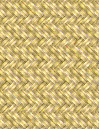 Abstract light wicker straw background vector for design workflow