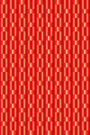 Abstract red wicker background vector for any design project Illusztráció