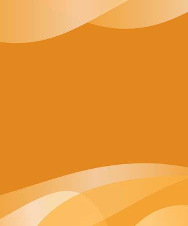 fond abstrait orange: R�sum� fond orange avec le vecteur de la conception d'onde