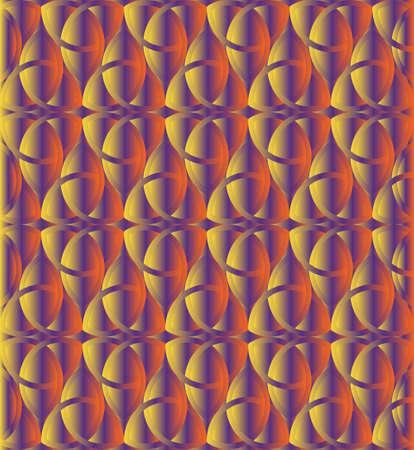 triquetra: Sunset color celtic knot triquetra background for design process