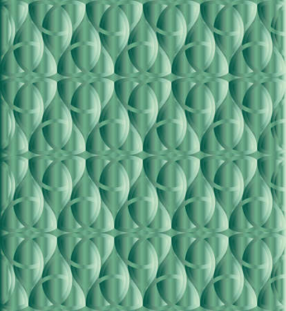 triquetra: Caribbean green celtic knot triquetra background for design process
