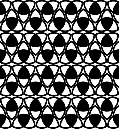 triquetra: Black-white celtic knot triquetra background for any project