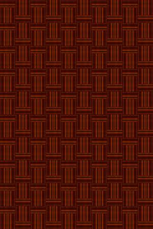 Abstract dark brown wicker background vector for design process Ilustração