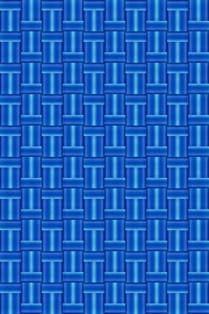 repetition row: Abstract light blue wicker background vector for design workflow