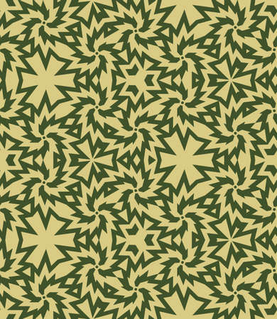 Abstract camouflage seamless pattern vector for design process Ilustração