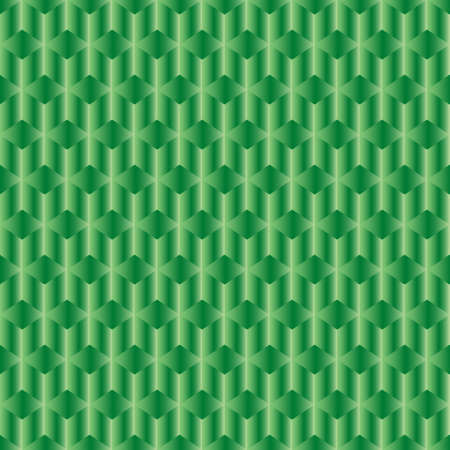 laser lights: Abstract green background with rhombus and rods