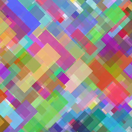 squares background: Abstract colorful squares background vector for design process