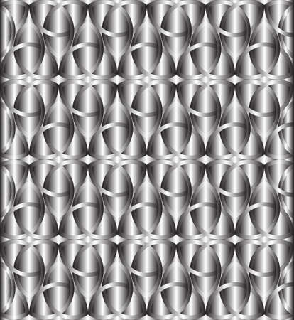 triquetra: Abstract silver celtic knot triquetra background vector