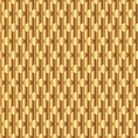 cross bar: Abstract golden background with rhombus and rods