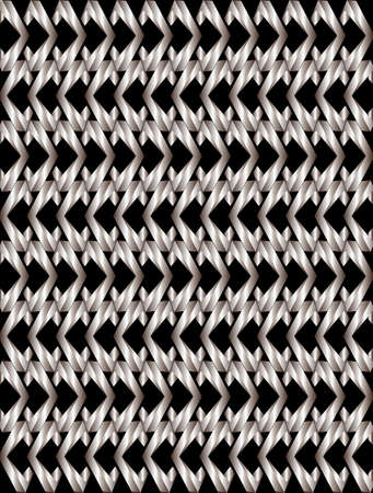 Abstract silver twisted long rhombus background for any design workflow