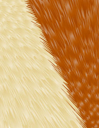 mink: Abstract beige-brown fur background vector for any design project