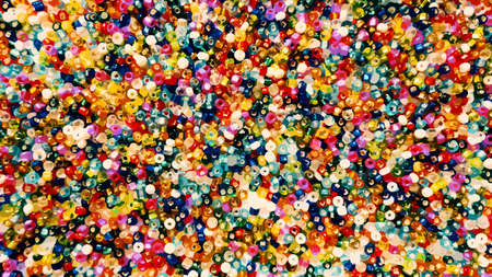 colorful beads: Abstract vintage colorful beads background vector for any design project