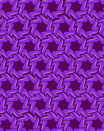 violet background: Abstract blue gear elements on dark violet background