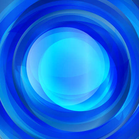 blue gradient: Abstract blue gradient twirl text presentation template