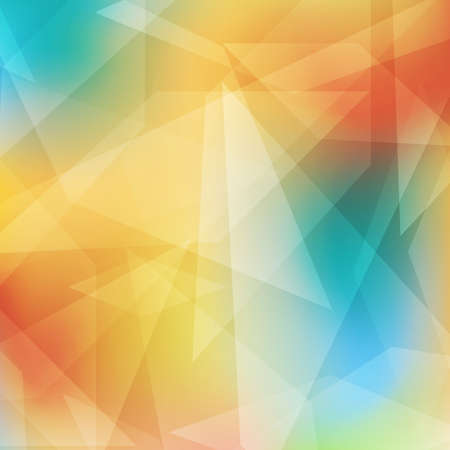 Abstract geometrical colorful background with rhombus shapes