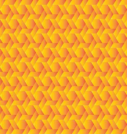 Abstract stylish red and yellow gradient background Çizim