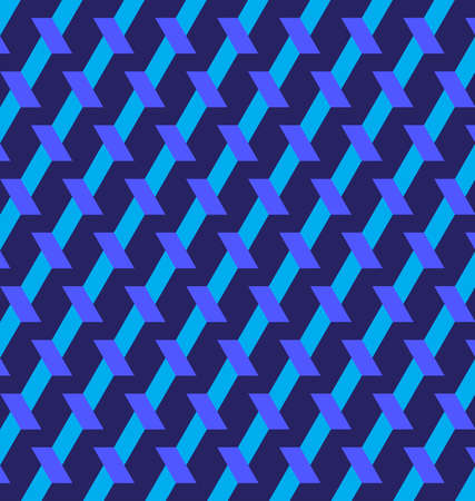 Abstract decorative geometric background of blue shades