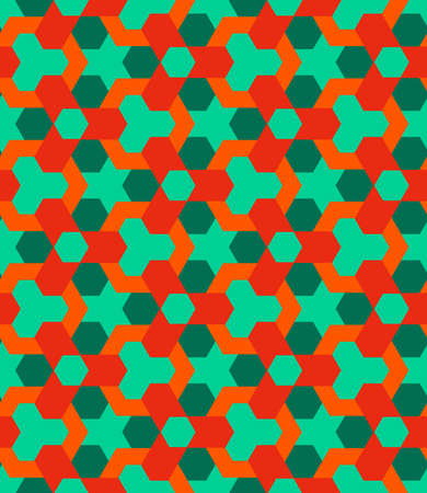 Abstract retro decorative seamless geometric pattern vector 向量圖像