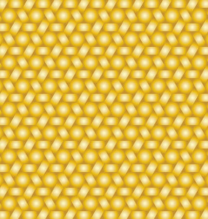 Abstract bright hexagon shapes and stripes background