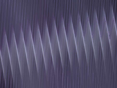 corrugation: 3D rendering with lilac abstract fractal texture spiral