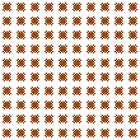 Texture with orange rendering abstract fractal pattern.
