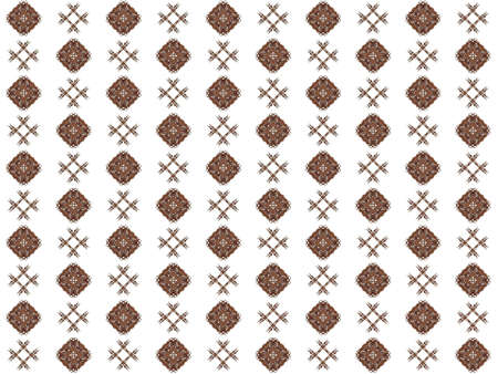 Texture with rendering abstract fractal brown pattern.