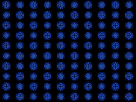Texture with rendering abstract fractal blue pattern.
