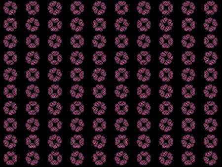 Texture with rendering abstract fractal pink pattern.