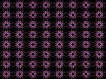 Texture with rendering abstract fractal purple pattern.
