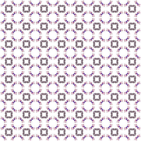 Seamless texture with 3D rendering abstract fractal gray pattern on a white background for fabric design
