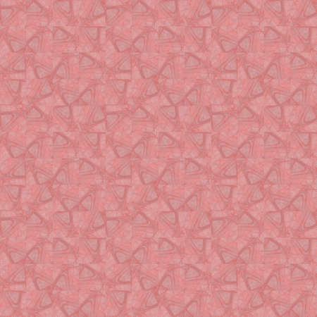 Seamless texture with 3D rendering abstract fractal pink mosaic pattern for fabric design Фото со стока