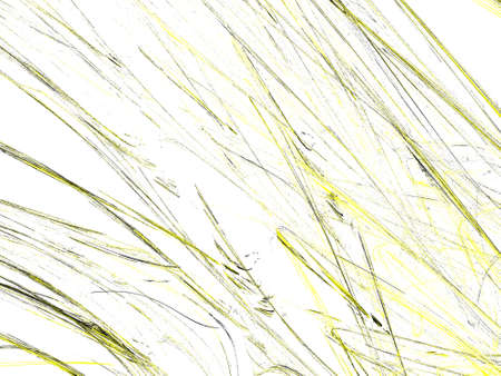 Abstract grunge dirty yellow background on white backdrop. Grime pattern texture. Stock Photo