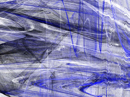 Abstract grunge dirty black blue pattern on white background. Rough noise design.