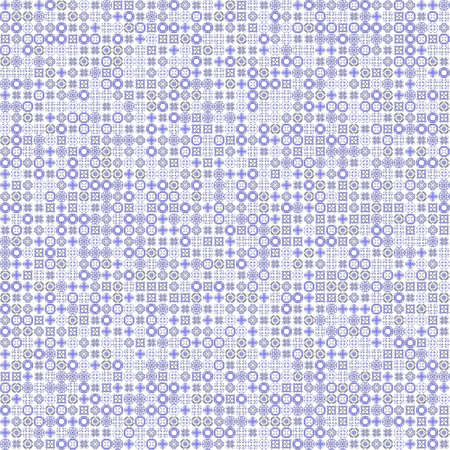 very dirty: Seamless abstract grunge blue texture on white background. Rough noise design. Chaotically placed very small fractal patterns.