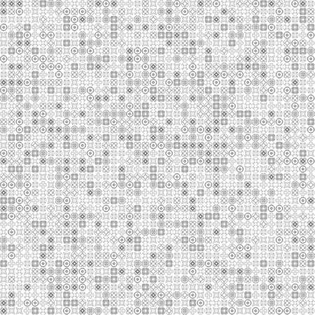 very dirty: Seamless abstract grunge gray texture on white background. Rough noise design. Chaotically placed very small fractal patterns.