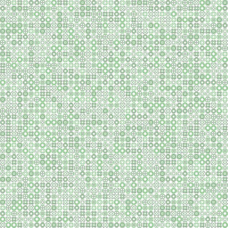 very dirty: Seamless abstract grunge green texture on white background. Rough noise design. Chaotically placed very small fractal patterns.