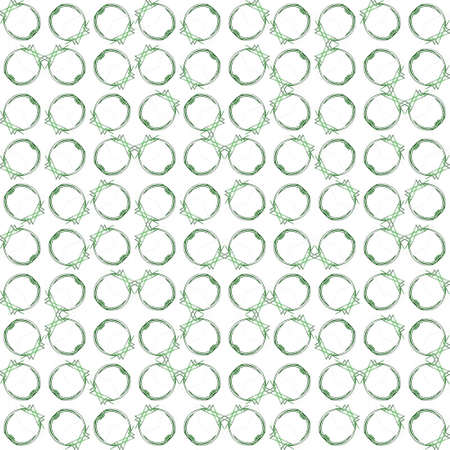 Abstract grunge green texture on white background. Rough noise design. Medium broken mosaic floral patterns are chaotically placed.