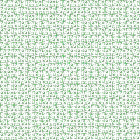 very dirty: Abstract grunge green texture on white background. Rough noise design. Very small broken mosaic floral patterns are chaotically placed.