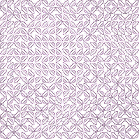 Abstract grunge purple texture on white background. Rough noise design. Small broken mosaic floral patterns are chaotically placed. Stock Photo