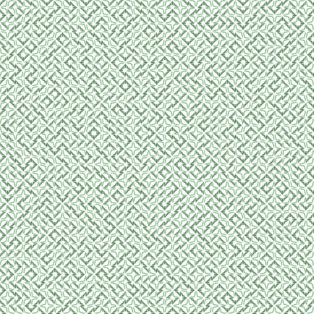 Abstract grunge green texture on white background. Rough noise design. Very small broken mosaic floral patterns are chaotically placed.