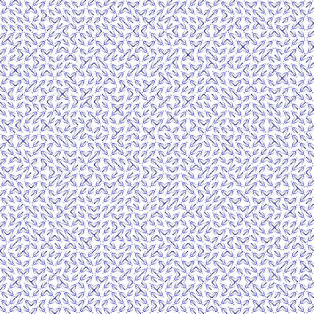 very dirty: Abstract grunge blue texture on white background. Rough noise design. Very small broken mosaic floral patterns are chaotically placed.