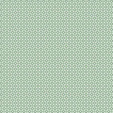 very dirty: Seamless abstract grunge green texture on white background. Arranged in a staggered manner two very small floral fractal patterns. Rough noise design image.
