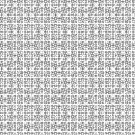very dirty: Seamless abstract grunge black texture on white background. Arranged in a staggered manner two very small floral fractal patterns. Rough noise design image. Stock Photo