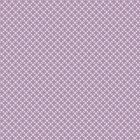 Seamless abstract grunge purple texture on white background. Arranged in a staggered manner two very small floral fractal patterns. Rough noise design image.