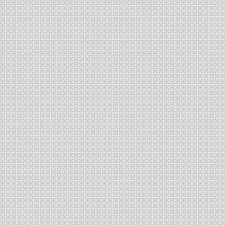 Seamless abstract grunge black texture on white background. Arranged in a staggered manner two very small floral fractal patterns. Rough noise design image. Stock Photo