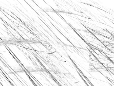 Grunge abstract black white background on white backdrop. Two colors. Rectangular horizontal shape. Average rough noise design. Stock Photo