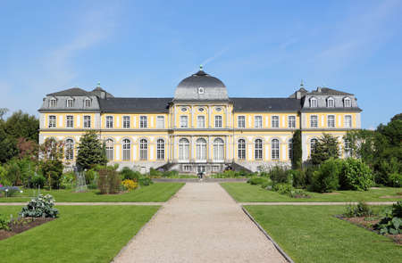 Poppelsdorf Palace in Bonn. It was constructed from 1715 till 1746, under design by the Frenchman Robert de Cotte.