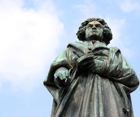 Monument of Ludwig van Beethoven in Bonn, Germany.